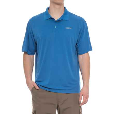 Pacific Trail Performance-Cooling Polo Shirt - Short Sleeve (For Men) in Strong Blue - Closeouts