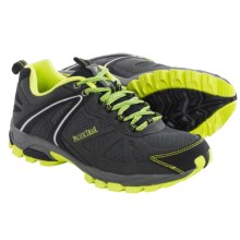Pacific Trail Pilot Trail Running Shoes (For Men) in Dark Grey/Black/Lime - Closeouts