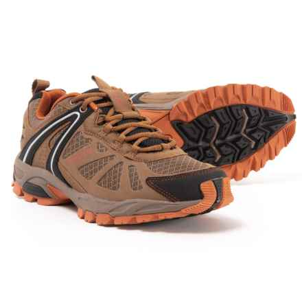 75b7fa0e1a548 Pacific Trail Pilot Trail Running Shoes (For Men) in Taupe Black Burnt
