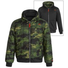 Pacific Trail Printed Camo Jacket - Reversible, Insulated (For Little and Big Boys) in Olive - Closeouts