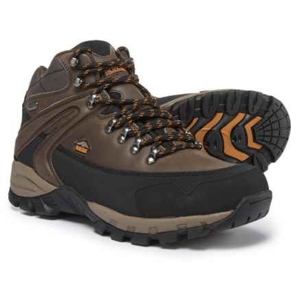 Pacific Trail Rainier Hiking Boots - Waterproof (For Men) in Chocolate/Burnt Orange - Closeouts