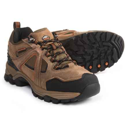 Pacific Trail Raker Hiking Shoes (For Men) in Smoke Brown/Orange - Closeouts