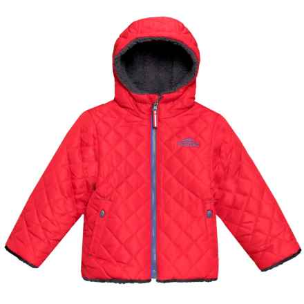 Pacific Trail Reversible Quilted Jacket - Insulated (For Toddler Boys) in Bold Red - Closeouts