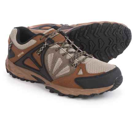 Pacific Trail Rogue Hiking Shoes (For Men) in Brown/Taupe/Black - Closeouts