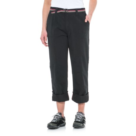 Pacific Trail Roll-Up Pants - UPF 30 (For Women) in Black