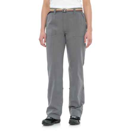 Pacific Trail Roll-Up Pants - UPF 30 (For Women) in Graphite - Closeouts