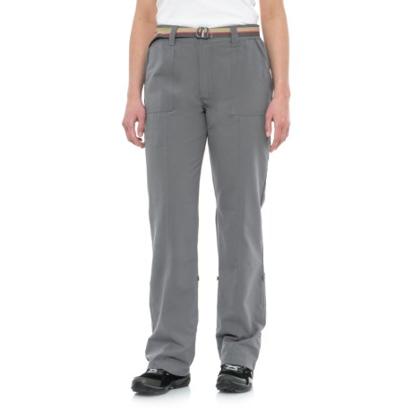 Pacific Trail Roll-Up Pants - UPF 30 (For Women) in Graphite
