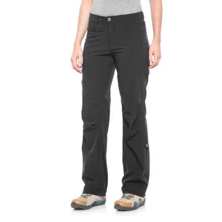 Pacific Trail Roll-Up Stretch Pants - UPF 30 (For Women) in Black - Closeouts