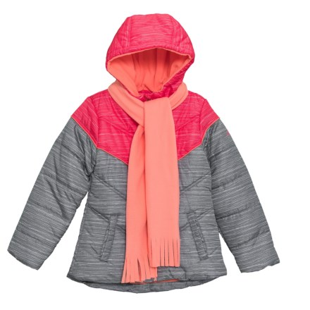 4f6d2f417 Pacific Trail Space-Dye Color-Block Jacket - Insulated (For Big Girls)