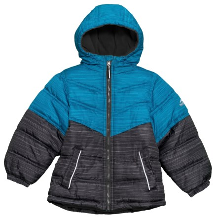 ebb0803c8cade Clearance. Pacific Trail Space-Dye Print Puffer Jacket - Insulated (For Big  Boys) in