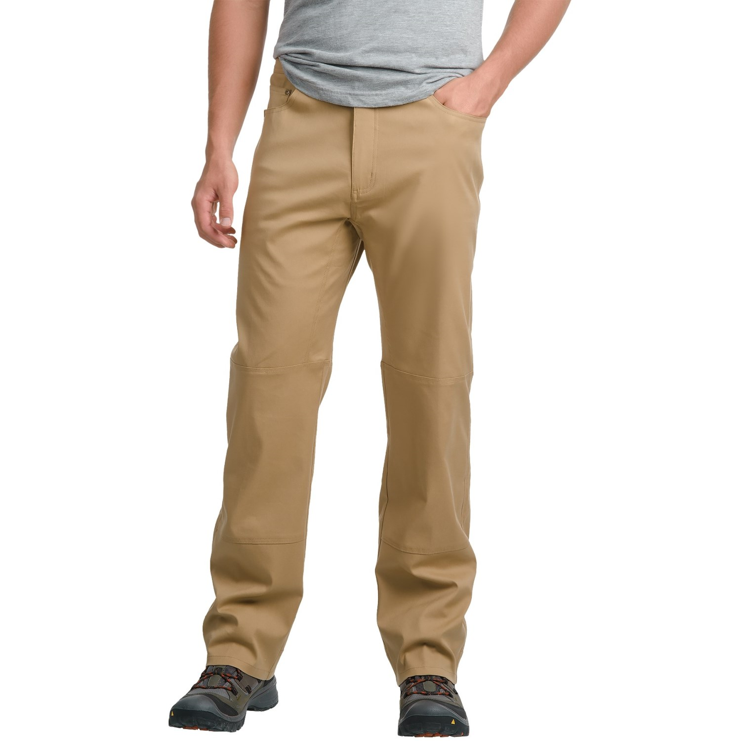 Pacific Trail Stretch Canvas Pants - UPF 30 (For Men) in Camel ...
