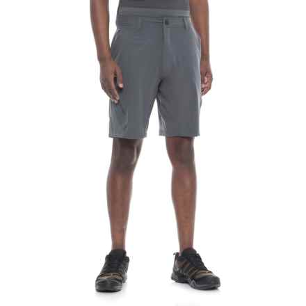 Pacific Trail Stretch Shorts - UPF 30 (For Men) in Flint - Closeouts