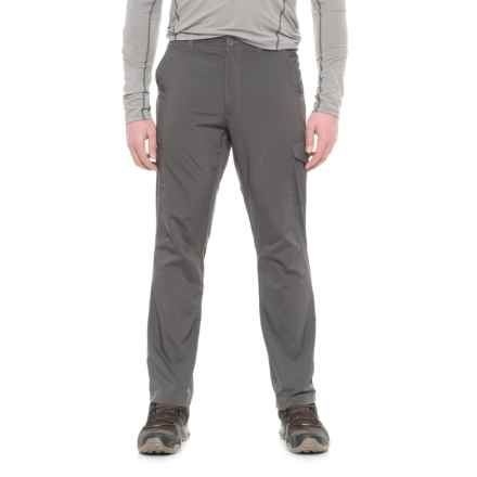 Pacific Trail Stretch-Woven Cargo Pants - UPF 30 (For Men) in Cliff Grey - Closeouts