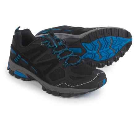 Pacific Trail Tioga Trail Running Shoes (For Men) in Black/Blue - Closeouts