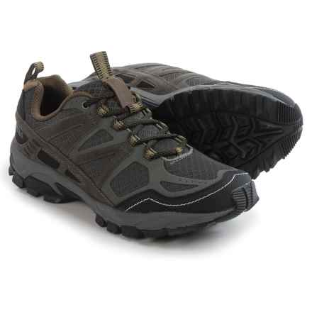 Pacific Trail Tioga Trail Running Shoes (For Men) in Graphite/Black/Olive - Closeouts