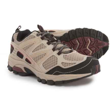 Pacific Trail Tioga Trail Running Shoes (For Women) in Chateau Grey/Pomegranite - Closeouts