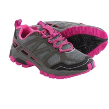 Pacific Trail Tioga Trail Running Shoes (For Women) in Dark Grey/Black/Pink - Closeouts