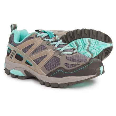 b9542cb60f Pacific Trail Tioga Trail Running Shoes (For Women) in Gray Sky - Closeouts