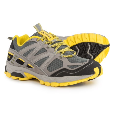 Pacific Trail Trail Tioga Trail Running Shoes (For Men) in Gray/Black/Yellow