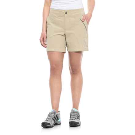 Pacific Trail Trek Shorts (For Women) in Buckskin - Closeouts