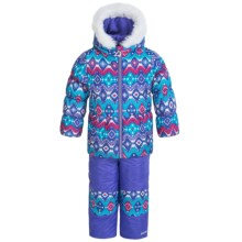 Pacific Trail Tribal Mania Snowsuit Set (For Toddlers) in Magnetic Purple - Closeouts