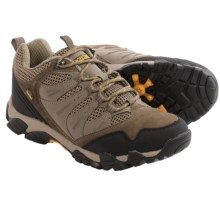 Pacific Trail Whittier Hiking Shoes (For Men) in Taupe/Pt Orange - Closeouts