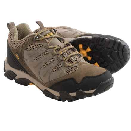 Pacific Trail Whittier Hiking Shoes - Suede (For Men) in Taupe/Pt Orange - Closeouts