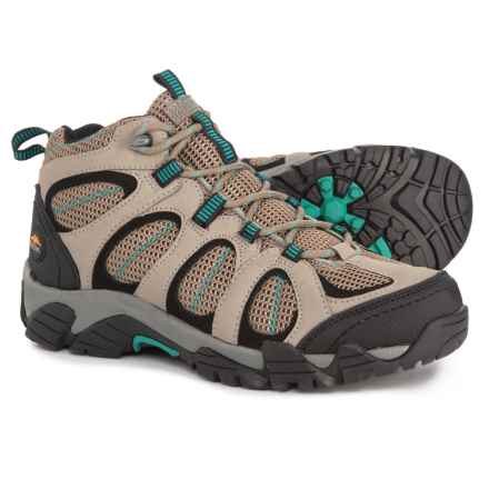Pacific Trail Windom Hiking Boots (For Women) in Dark Taupe/Teal - Closeouts