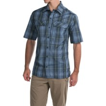 Pacific Trail Yarn-Dyed Plaid Shirt - UPF 30+, Short Sleeve (For Men) in Blue - Closeouts