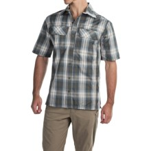 Pacific Trail Yarn-Dyed Plaid Shirt - UPF 30+, Short Sleeve (For Men) in Khaki - Closeouts