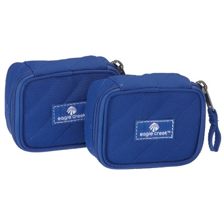 Eagle Creek Pack-It Original Quilted Mini Cube Set - Blue Sea