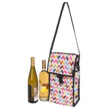 PackIt Double-Insulated Wine Bag in Ziggy - Closeouts