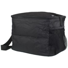 PackIt Insulated 12-Can Cooler in Black - Closeouts