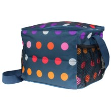 PackIt Insulated 12-Can Cooler in Dots - Closeouts