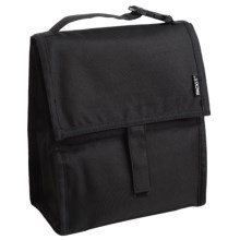 PackIt Insulated Lunch Bag in Black - Overstock