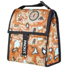 PackIt Insulated Lunch Bag in Treasure Map - Overstock