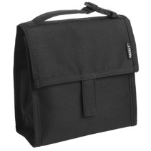 PackIt Insulated Mini Lunch Bag in Black - Overstock