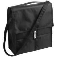 PackIt Insulated Picnic Bag in Black - Closeouts