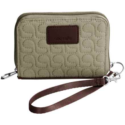 Pacsafe Anti-Theft RFIDsafe W100 Wallet in Rosemary - Closeouts