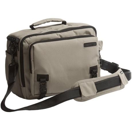 Pacsafe Camsafe® Z15 Anti-Theft Camera and Tablet Shoulder Bag in Slate Green