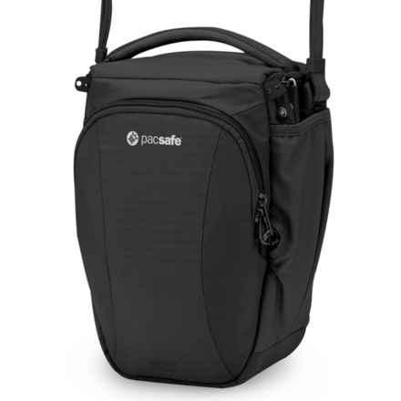 Pacsafe Camsafe®V6 Anti-Theft Camera Top Loader Bag in Black - Closeouts
