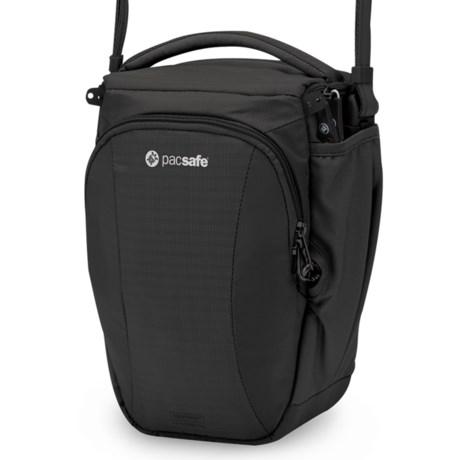 Pacsafe Camsafe®V6 Anti-Theft Camera Top Loader Bag in Black