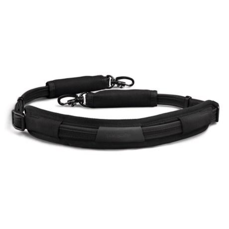 Pacsafe Carrysafe® 100 Anti-Theft Camera Strap in Black
