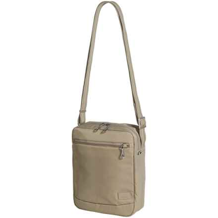 Pacsafe Citysafe® CS150 Crossbody Shoulder Bag in Almond - Closeouts