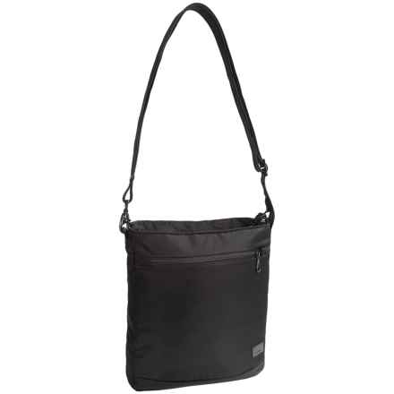 "Pacsafe Citysafe® CS175 Anti-Theft Shoulder Bag - Fits up to 11"" Tablet in Black - Closeouts"
