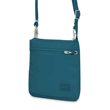 Pacsafe Citysafe® CS50 Crossbody Purse in Teal - Closeouts