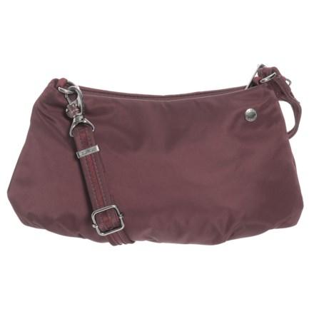 b4a8dd78d771 Pacsafe Citysafe CX Anti-Theft Crossbody Bag in Merlot - Closeouts