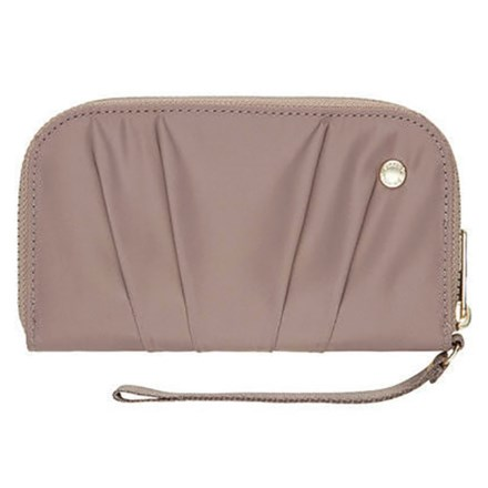 230677af8f0406 Pacsafe Citysafe® CX Wristlet Wallet in Blush Tan - Closeouts