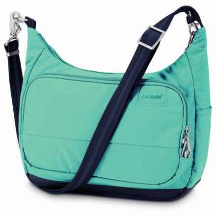 Pacsafe Citysafe® LS100 Handbag in Lagoon - Closeouts