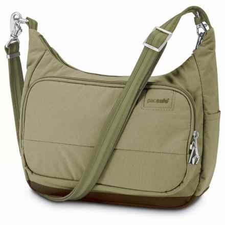 Pacsafe Citysafe® LS100 Handbag in Rosemary - Closeouts